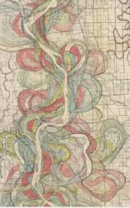 Section of Ancient Courses, Mississippi River Meander Belt, Plate 22, Sheet 9 (Fisk 1944)